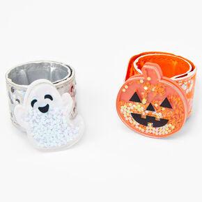 Halloween Icons Shaker Slap Bracelets - 2 Pack,