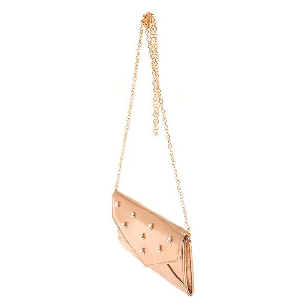 Claire's - rose clutch purse - 2