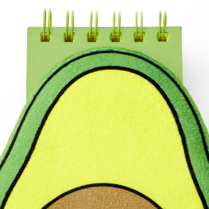 Smiling Avocado Squish Notebook - Green,