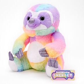 Rainbow Sherbet Sloth Plush Toy,