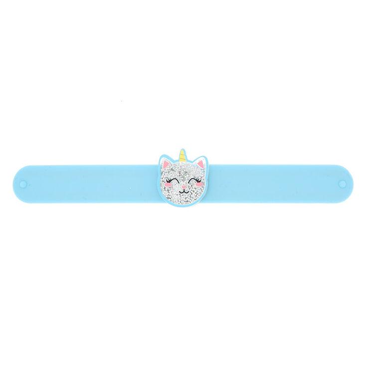 UniCat Glitter Slap Bracelet - Blue,