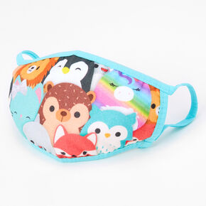 Squishmallows™ Critter Print Cotton Face Mask - Adjustable,