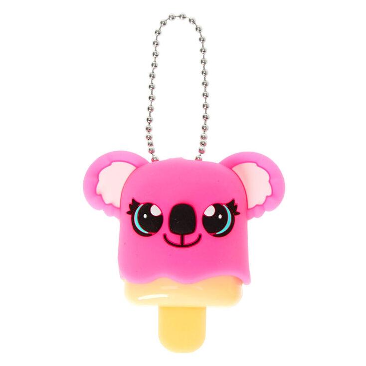 Pucker Pops Pink Koala Lip Gloss - Fruit Punch,