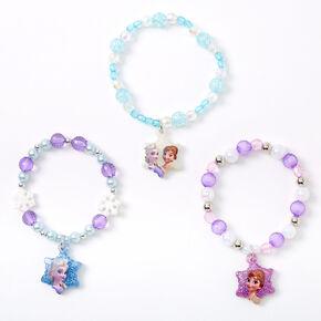 ©Disney Frozen Beaded Stretch Bracelets - 3 Pack,