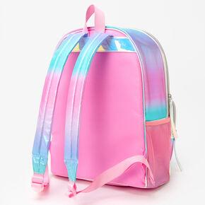 Unicorn Iridescent Sequin Backpack - Rainbow,