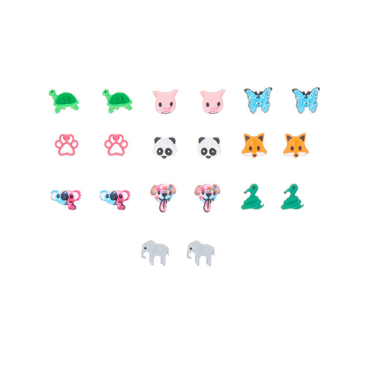 Cute Animal Stud Earrings 10 Pack Claire S Us