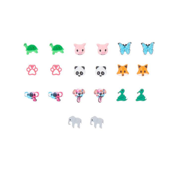 cute animal stud earrings 10 pack claires us