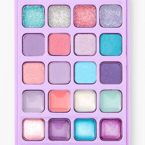 Rainbow Bling Cell Phone Makeup Set - Purple,