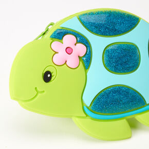 Tessa the Turtle Jelly Coin Purse - Green,