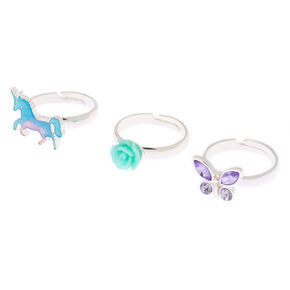 Spring Unicorn Rings - 3 Pack,