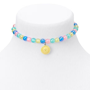 Claire's Club Sun & Rainbow Pastel Beaded Jewelry Set - 2 Pack,