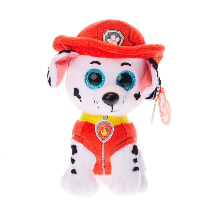 TY Beanie Boo Small Paw Patrol Marshall Soft Toy  8413a577e5a