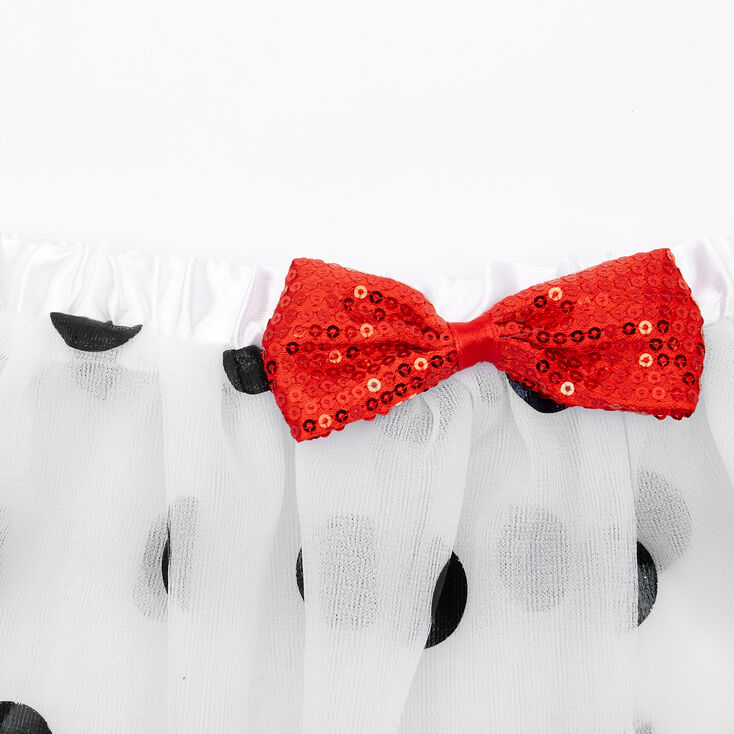 Claire's Club Dalmation Dress Up Set - White, 3 Pack,