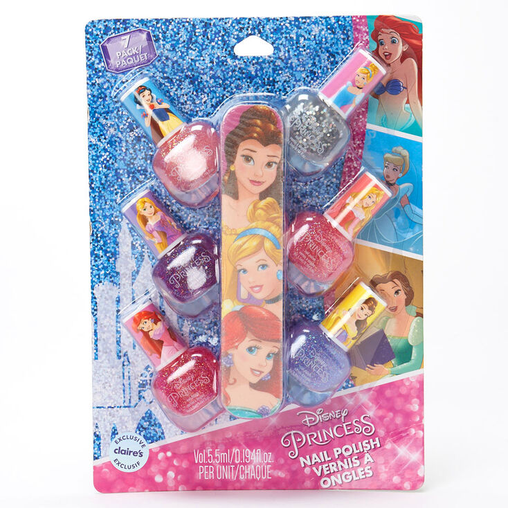 ©Disney Princess File and Nail Varnish – 7 Pack,