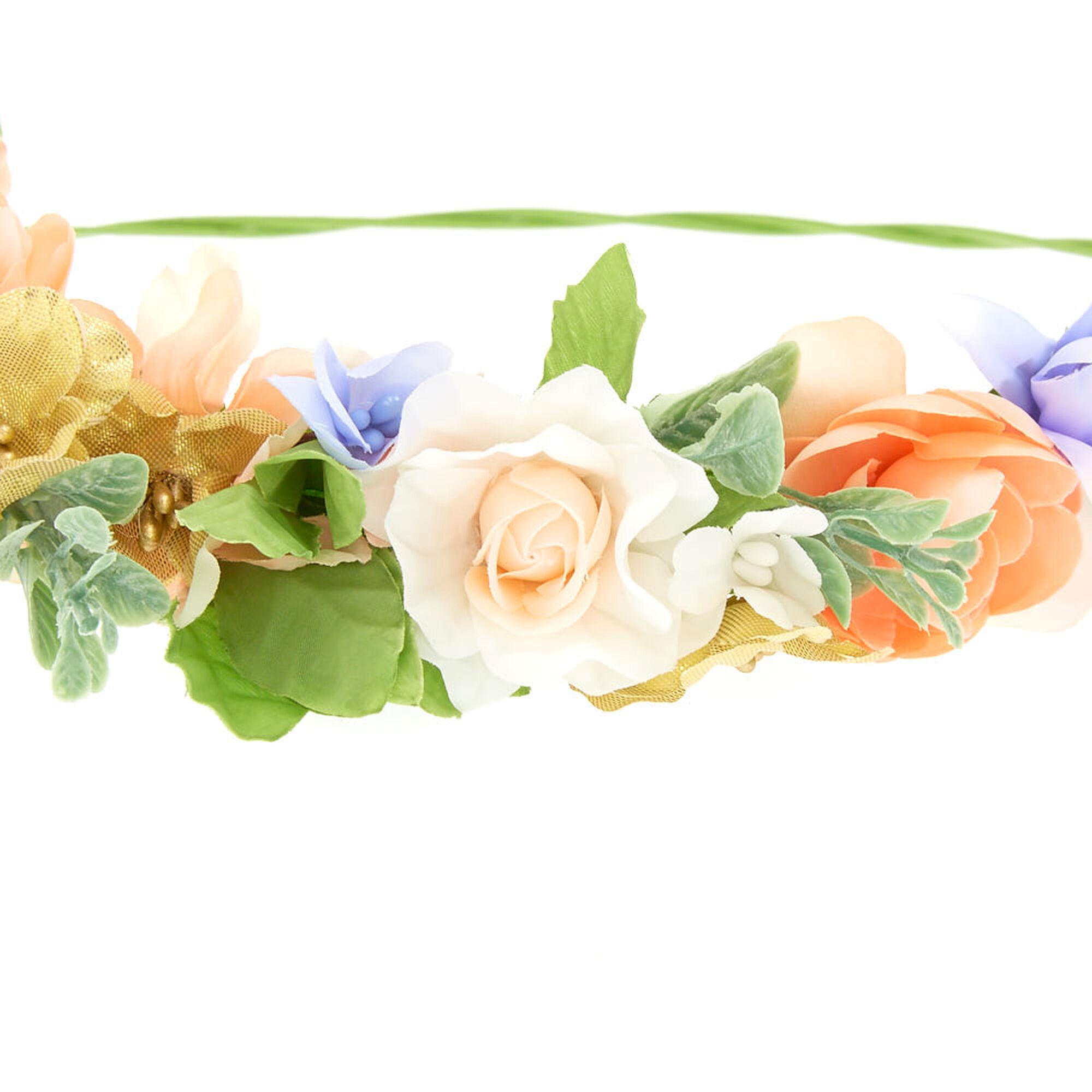 Spring mix flower crown claires us spring mix flower crown mightylinksfo