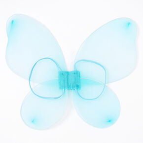 Claire's Club Glitter Wings - Turquoise,