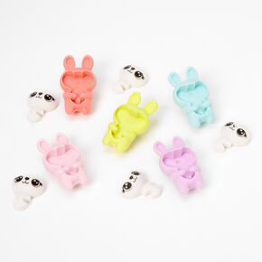 Pastel Bunny Erasers - 5 Pack,
