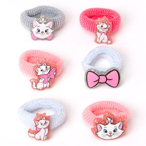 ©Disney Animals Marie Glitter Hair Bobbles – Pink, 6 Pack,