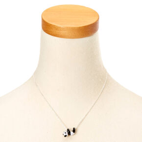 Collier à pendentif panda qui se balance,