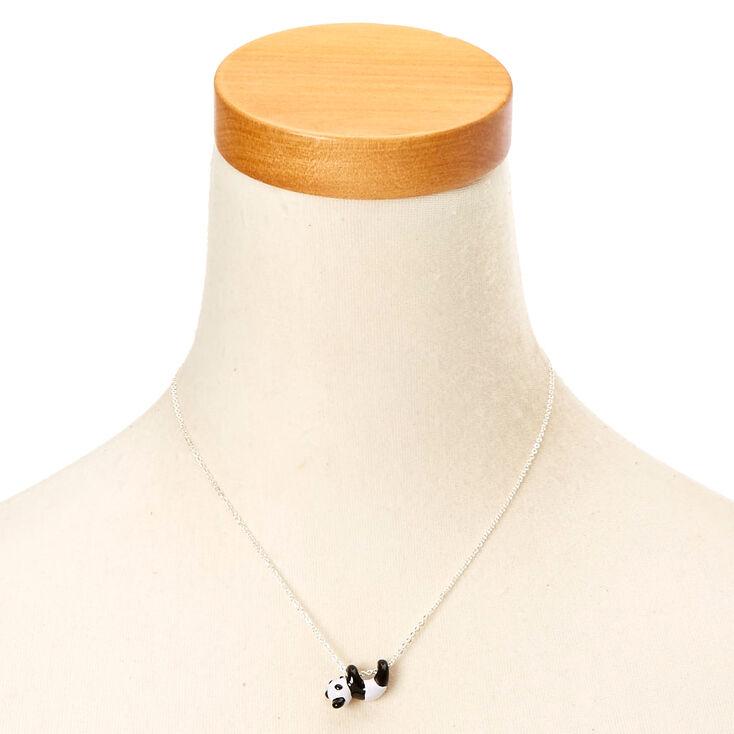 Swinging Panda Pendant Necklace,