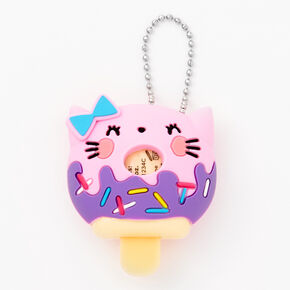 Pucker Pops Cat Donut Lip Gloss - Vanilla,
