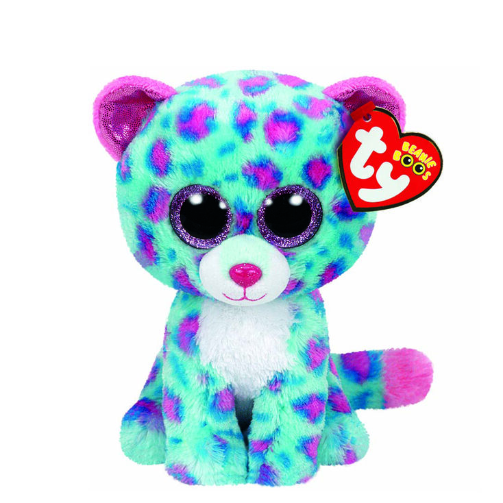 7a663d23489 Claire s Ty Beanie Boo Small Sydney The Leopard Soft Toy