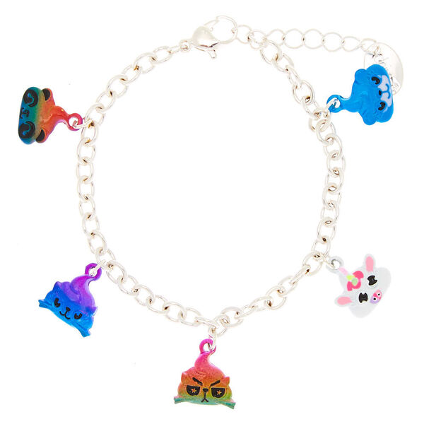 Claire's - poo party animal charm bracelet - 1