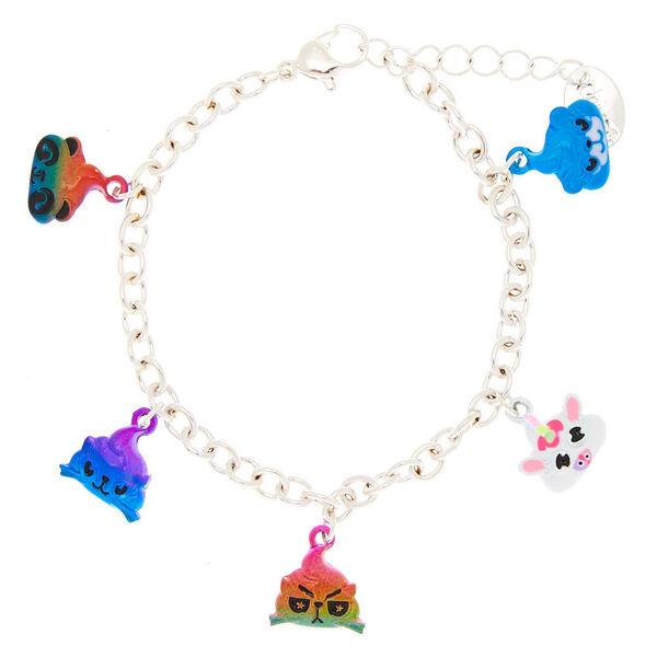 Claire's - poo party animal charm bracelet - 1