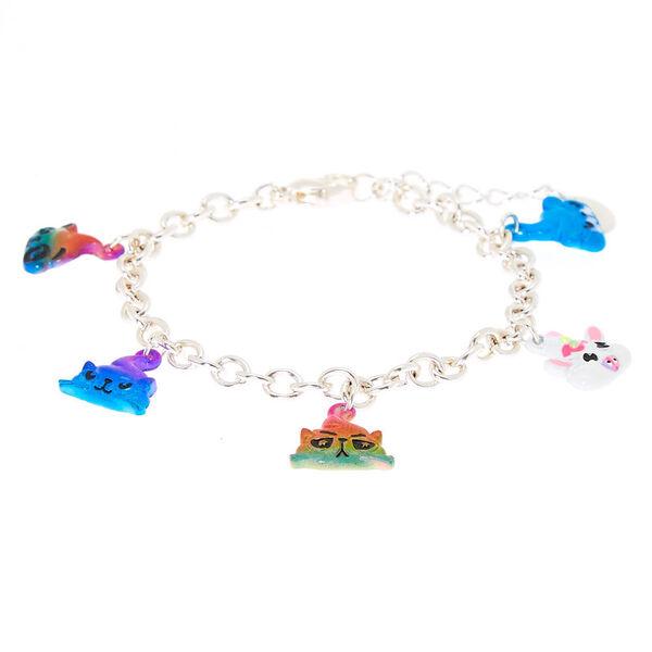 Claire's - poo party animal charm bracelet - 2