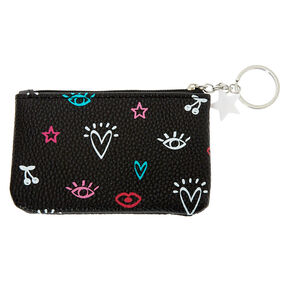 Icon Coin Purse - Black,