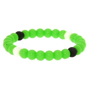 Neon Fortune Stretch Bracelet - Green,