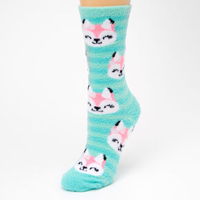 Fox Crew Socks - Blue,