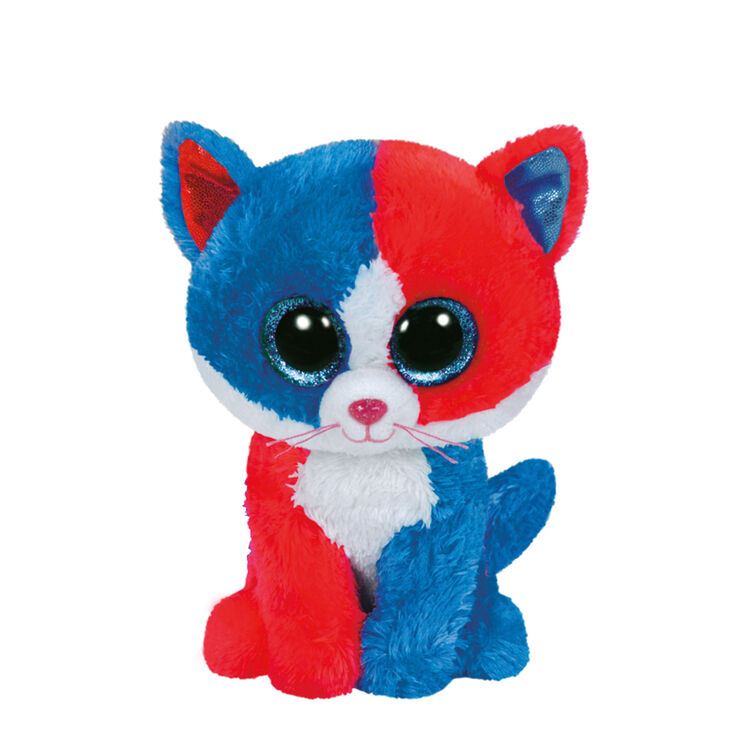 Ty Beanie Boo Small Spirit the Firecracker Cat Plush Toy  26798438dc7