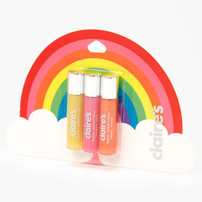 Rainbow Glitter Lip Gloss - 3 Pack,