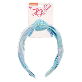 JoJo Siwa™ Iridescent Knotted Headband – Blue,