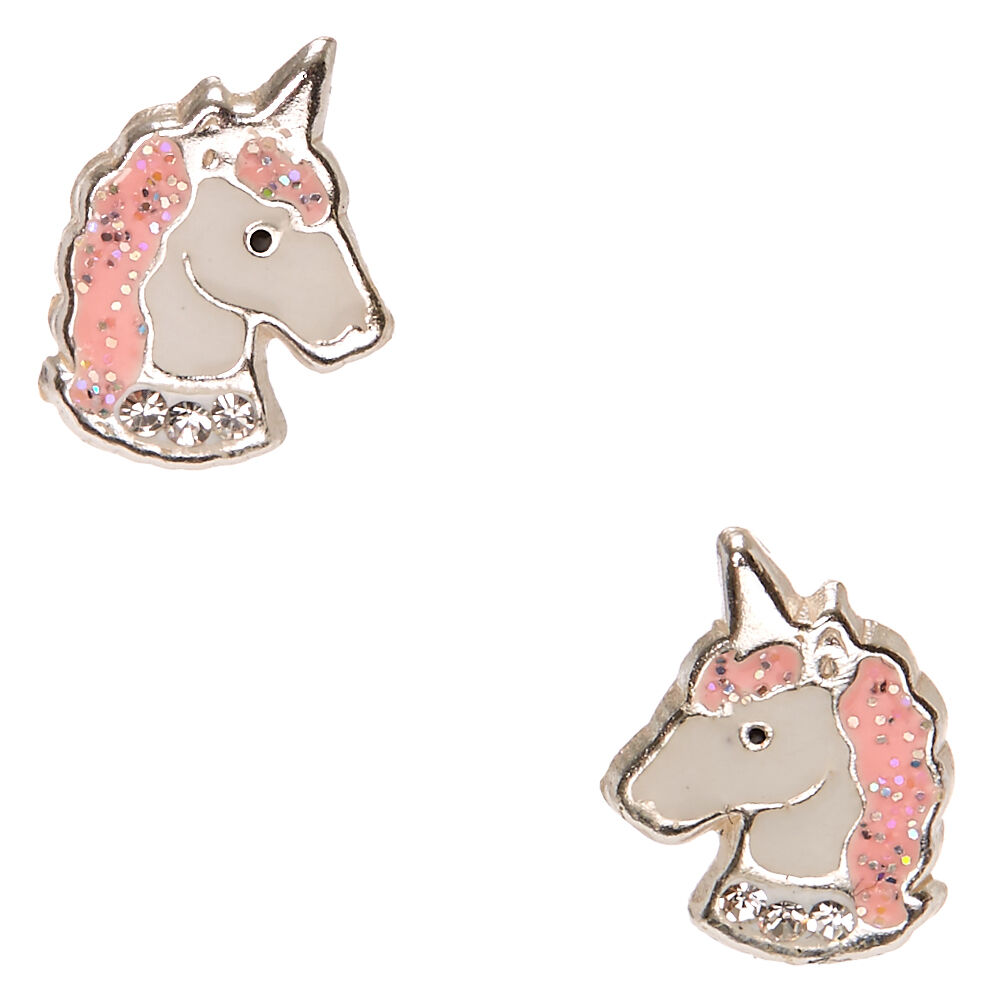 Unicorn Earrings - Sterling Silver R7caODomC