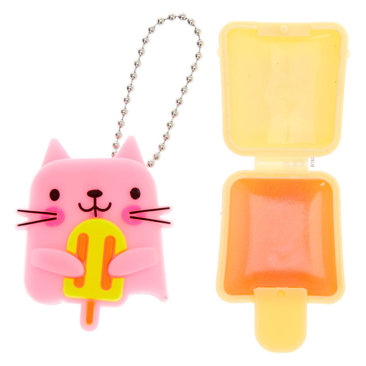 Pucker Pops Popsicle Cat Lip Gloss - Strawberry Lemonade,