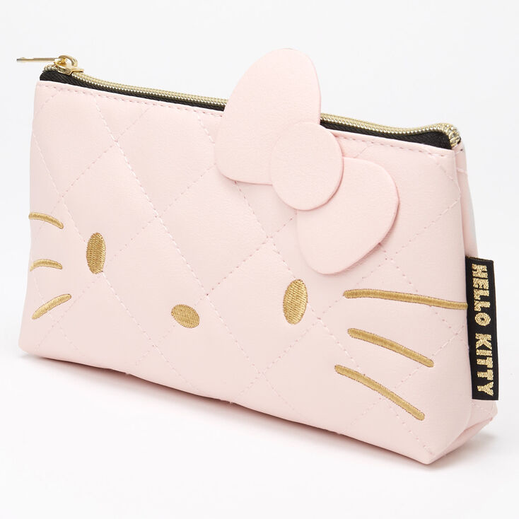 Hello Kitty® Quilted Pencil Pouch - Pink,
