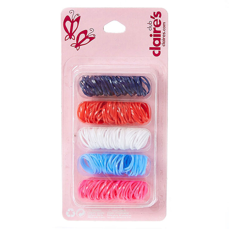 Kids Multi-Color Polyband Hair Ties  8e569222d78