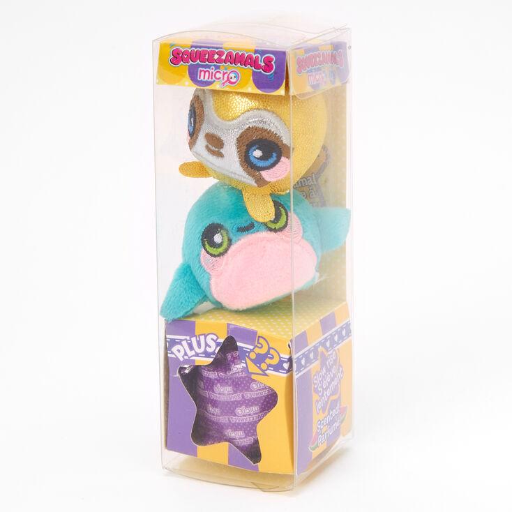 Lot de 3jouets en peluche parfumés version micro Squeezamals™ - Les modèles peuvent varier,