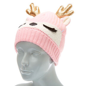 2cfb1bb66 Girls Hats - Beanie Hats, Knit Berets & Baseball Caps | Claire's US