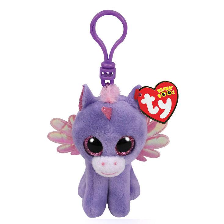 Ty Beanie Boo Athena the Pegasus Keyring Clip