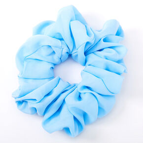 Giant Hair Scrunchie - Candy Blue,