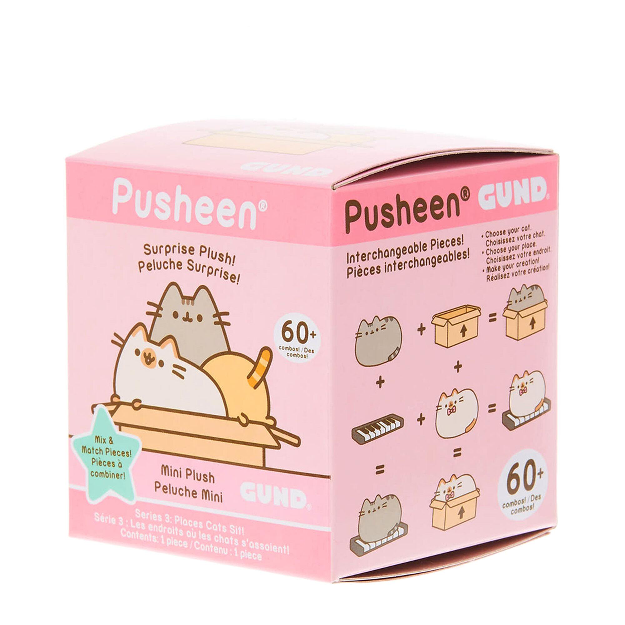 mini pusheen mix match surprise box claire s