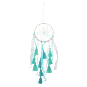 Ocean Breeze Crochet Hanging Wall Art - Mint,