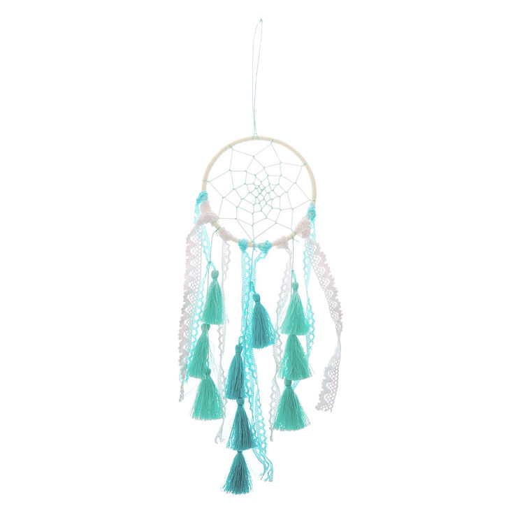 Ocean Breeze Crochet Dreamcatcher - Blue,