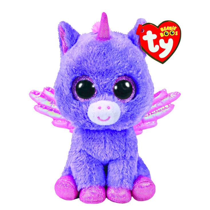 8d127cf7ac7 Ty Beanie Boo Medium Athena the Pegasus Soft Toy