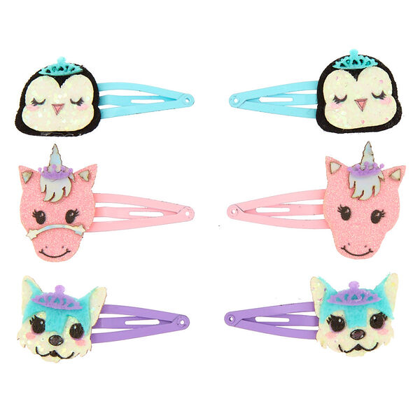 Claire's - club critter snap hair clips - 2