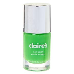 Solid Nail Polish - Neon Lime,