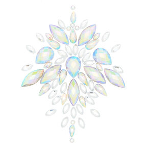 Iridescent Skin Gems - Clear,